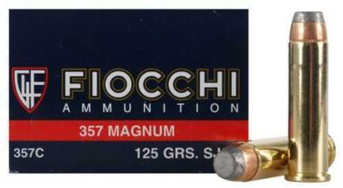 357 Magnum 125 Grain SJSP (Per 50) Md: 357C