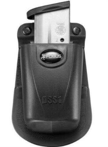 Fobus Paddle Magazine Holster, 9mm/40 Caliber Single-Stack Single, Black Md: DSS1