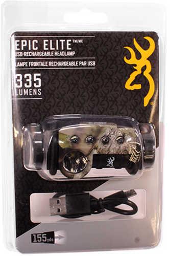 Browning Epic Elite Usb Rechargeable Headlamp