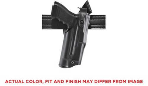 Safariland Model 6360 ALS/SLS Mid-Ride Level III Retention Duty Holster Fits Glock 17/22 Right Hand Plain Black Finish 6