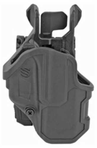 Blackhawk 410701BKR T-Series L2C Black Matte Polymer OWB Glock 19,23,26,27,32,33,45 Right Hand