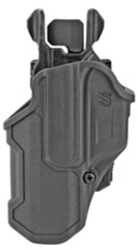 Blackhawk 410700BKL T-Series L2C Black Matte Polymer OWB Glock 17,22,31,34,35,41,47 Left Hand