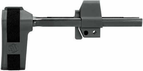 "Sb Tactical HKPDW HK Brace PDW Aluminum Black Hardcoat Anodized 3.2-8"""
