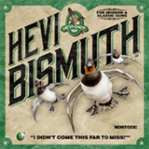 "Hevishot Hevi-Bismuth Waterfowl 12 Gauge 2-3/4"" 1 1/4 oz. #6 Shot 25 Box"