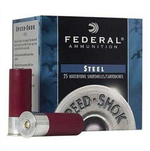 "Federal WF107T Speed-Shok 10 Gauge 3.5"" 1 1/2 Oz T Shot 25 Box"