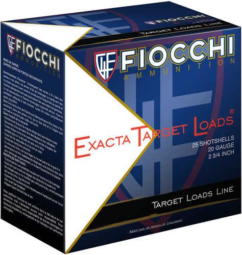 "Fiocchi 20SLR7 Exacta Waterfowl 20 Gauge 2.75"" 7/8 Oz 7 Shot 25 Per Box"