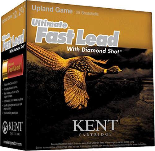 "Kent Cartridge Ultimate FastLead Upland 12Ga 2.75"" 7 Shot 1-1/4Oz Box of 25 Shotshells"