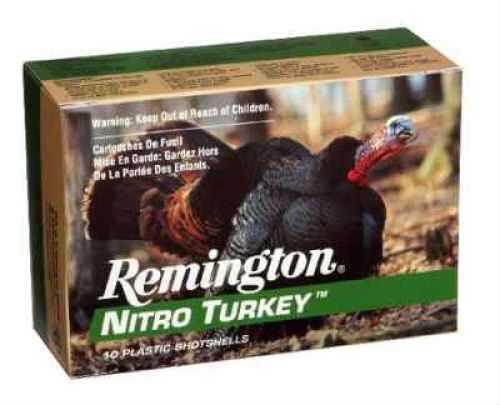 "Remington 26693 Nitro Turkey 12 Gauge 3"" 1 7/8Oz #4 10 Rds Ammunition Nt12H4"