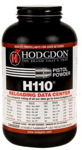 Hodgdon H110 Smokeless Powder 1 Lb