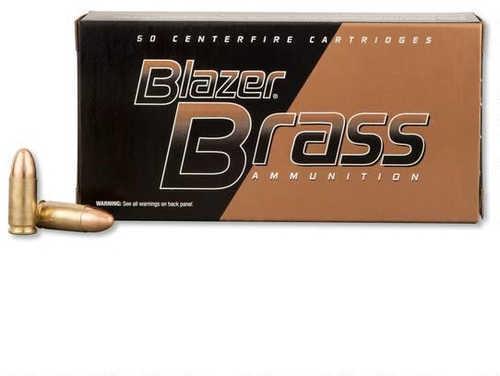 CCI 9MM Luger 115 Grain FMJ Brass Case Ammuntion 50 Rounds
