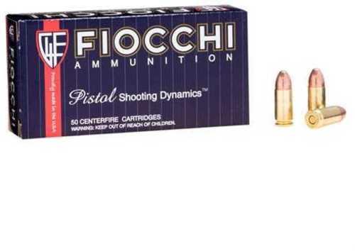 Fiocchi 9mm Luger 147 Grain FMJ 50 Rounds Ammunition