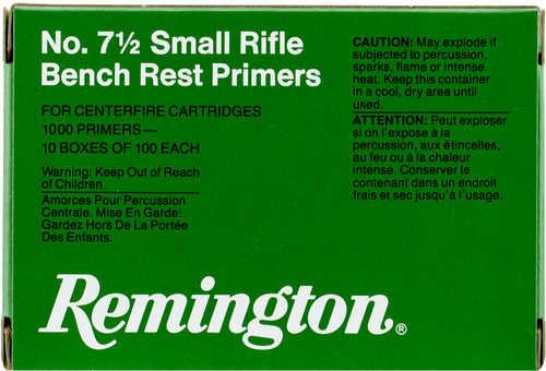 Remington Primers 7-1/2 Small Rifle Bench Rest primers 1,000