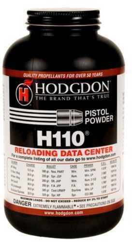 Hodgdon Smokeless Powder H110 1 Lb