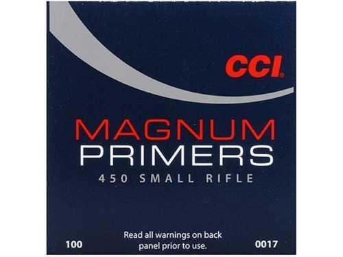CCI 450 Primers Magnum Small Rifle Per 1000