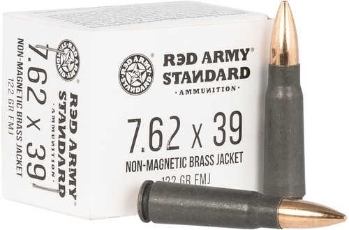 Red Army Standard 7.62X39mm 122 Gr Full Metal Jacket Boat Tail 20 Box