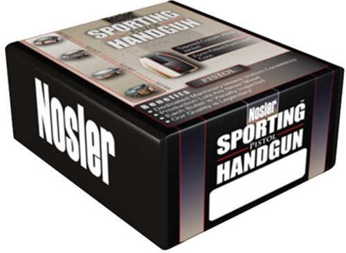 Nosler Jacketed Hollow Point Handgun Bullet 9MM Caliber 115 Grain 250/Box Md: 44848