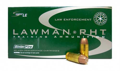 Speer Ammo  Lawman  40 S&W 125 gr Frangible 50 Per Box