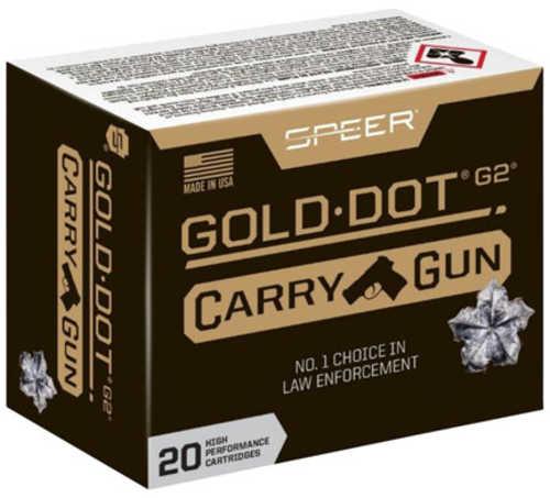 SPPER 40 S&W 165Gr Gold Dot Carry Gun Hollow Point Per 20 Rounds