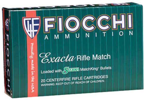 Fiocchi Exacta 308 Win 175 gr Sierra MatchKing Hollow Point Boat-Tail 20 Round Box 308MKD