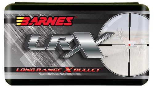 Barnes Long Range X Rifle Bullets, .25 Caliber, 101 Grain, Boat Tail