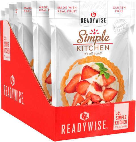 Wise Foods Simple Kitchen Freeze Dried Fruit Freeze Dried Snacks Strawberry/Yogurt 6 Per Case 4 Servings Per Po