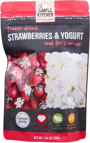 Wise Foods Simple Kitchen Freeze Dried Fruit Freeze Dried Snacks Blueberry/Yogurt 6 Per Case 4 Servings Per Pou
