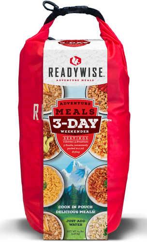 Wise Foods Outdoor Food Kit 3 Day Weekender Pack W/Dry Bag 6 Entrees, 3 Breakfasts And 3 Snacks 12 Per Pack 12