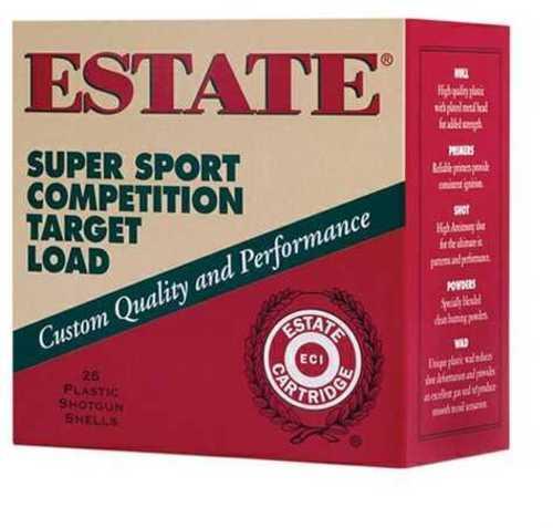 """Estate Super Sport 12 Gauge 2 3/4"""" 1 Oz 8 Shot 25 Round Box"""