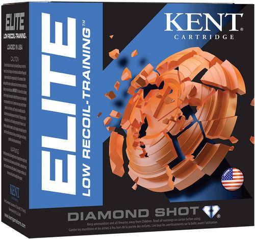 "Kent Cartridge E122L208 Elite Low Recoil/Training 12 Gauge 2.5"" 3/4 Oz 8 Shot 25 Box"