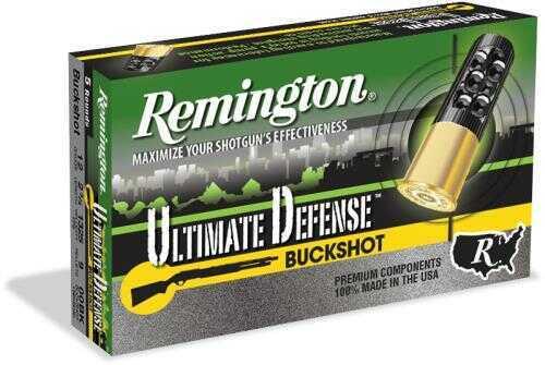 Remington Ultimate Defense .410 Gauge 2.5 Inch 00 Buck Shotshells, 15 Per Box Md: 410B000HD