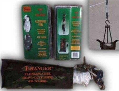 T-Hangers Stainless Steel Hoist 4-1
