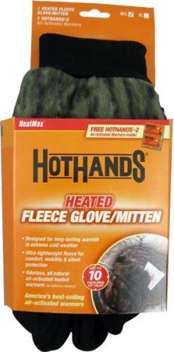 Hot Hands Heated Mittens Xl Mossy Oak Break Up