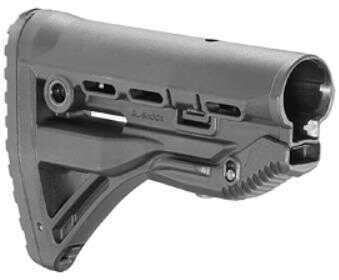 FAB Defense Stock GL-Shock Absorbing Buttstock Fits AR Rifles Black FX-GLSHOCK