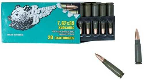 FIME Ammo 7.62X39 196 Grain FMJ 20ESBOX 20 Box