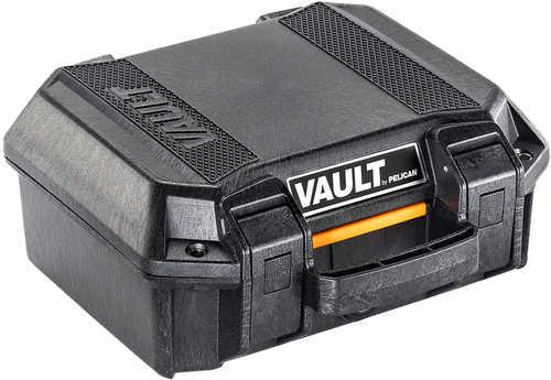 """Pelican Vault Small Case Polyethylene Black 12.28""""L X 12.03"""" W X 5.16"""" D (Exterior)"""