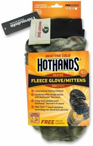 Hot Hands Heated Mittens M/L Mobu