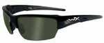 Wiley X WX Saint Sunglasses, Gloss Black Frame, Polarized Smoke Green Lens    Features:    - Shatterproof Selenite™ Polycarbonate lenses that meet the MIL-PRF-32432(GL) ballistic standards: ANSI Z87.1...