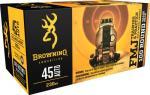 Browning Ammo B191800454 Training & Practice 45 Automatic Colt Pistol ( ACP ) 230 Gr Full Metal Jacket 100 Bx/ 5 Cs