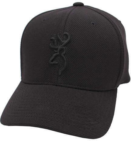 Browning Coronado Pique Cap Black, Small/Medium Md: 308007992
