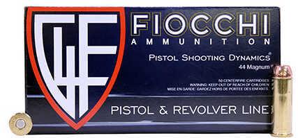 Fiocchi Ammo 44 Magnum, 200 Grains, CMJ, Per 50 Md: 44ACMJ5C