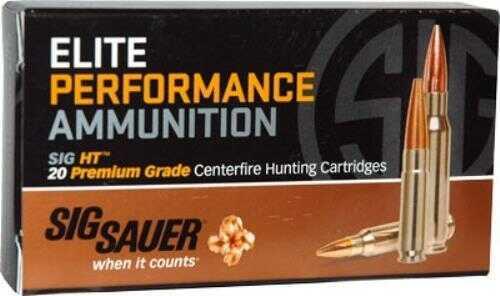 Sig Sauer Elite Performance .300 AAC Blackout 120 Grain Solid Copper Lead Free Expanding Ammunition, 20 Rounds Md: E300H