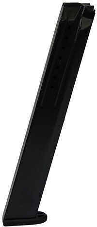 ProMag Ruger® SR9, 9mm 32-Round Magazine, Blued Steel Md: RUG-A34