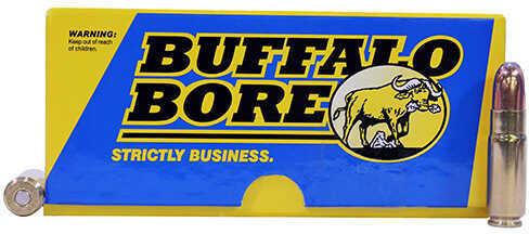 Buffalo Bore 458 SOCOM 500 Grains, Jacketed Round Nose, Ammunition 20 Rounds Per Box Md: 47F/20