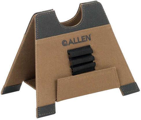 Allen Cases Alpha-Lite Folding Gun Rest 5.5-Inches, Medium, Brown Md: 18405