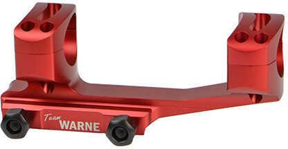 Warne Scope Mounts Gen 2 Extended Skeletonized MSR Scope Mount Picatinny-style With Rings 1 Piece, 30mm Tube XSKEL30R