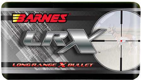 Barnes Bullets 375 Caliber Bullets LRX Long-Range Hunting Bullets, 270 Grains, LRX Boat Tail, Per 50 Md: 30483