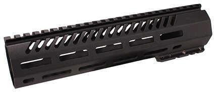 "Mission First Tactical Tekko Mtl AR15 Free Floating Rail System 10"" Carbon, M-Lik, Black"