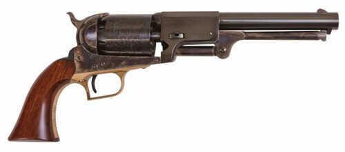 "Cimarron Whitneyville Dragoon Percussion Revolver .44 Cal 7.5"" Barrel Case Hardened Steel, Brass Standard Blue Finish"