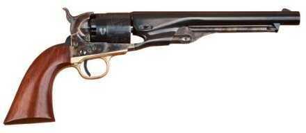 "Cimarron 1861 Navy Cut For Stock .36 Caliber 7 1/2"" Barrel, Charcoal Blue Finish"
