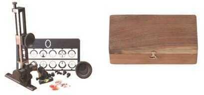 Pedersoli Soule Sight Mid-range Set With Wooden Case